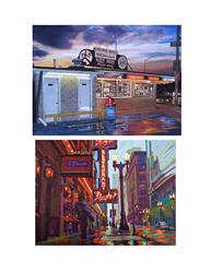 The State Street Gallery at Robert Morris University Presents Oil Paintings by Bruce Cascia and Nick Paciorek, 4/25
