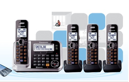 Panasonic Unveils 2013 Lineup of Home DECT Phones
