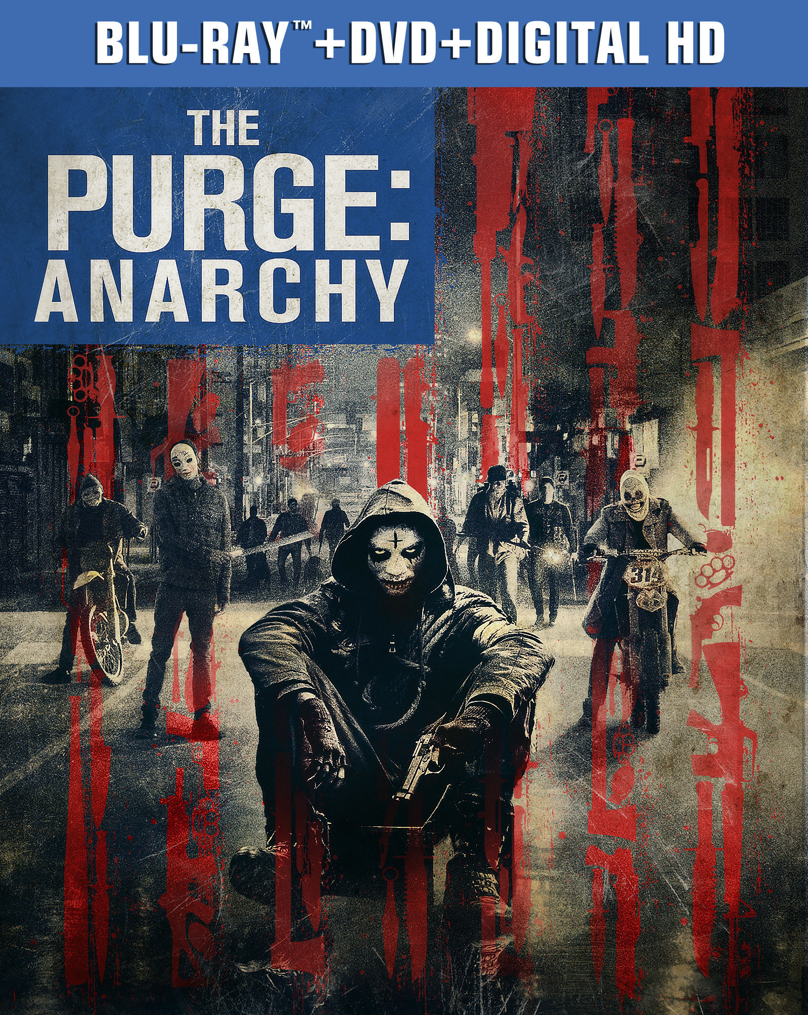 THE PURGE: ANARCHY Coming to Blu-ray Combo Pack & Digital HD, 10/21