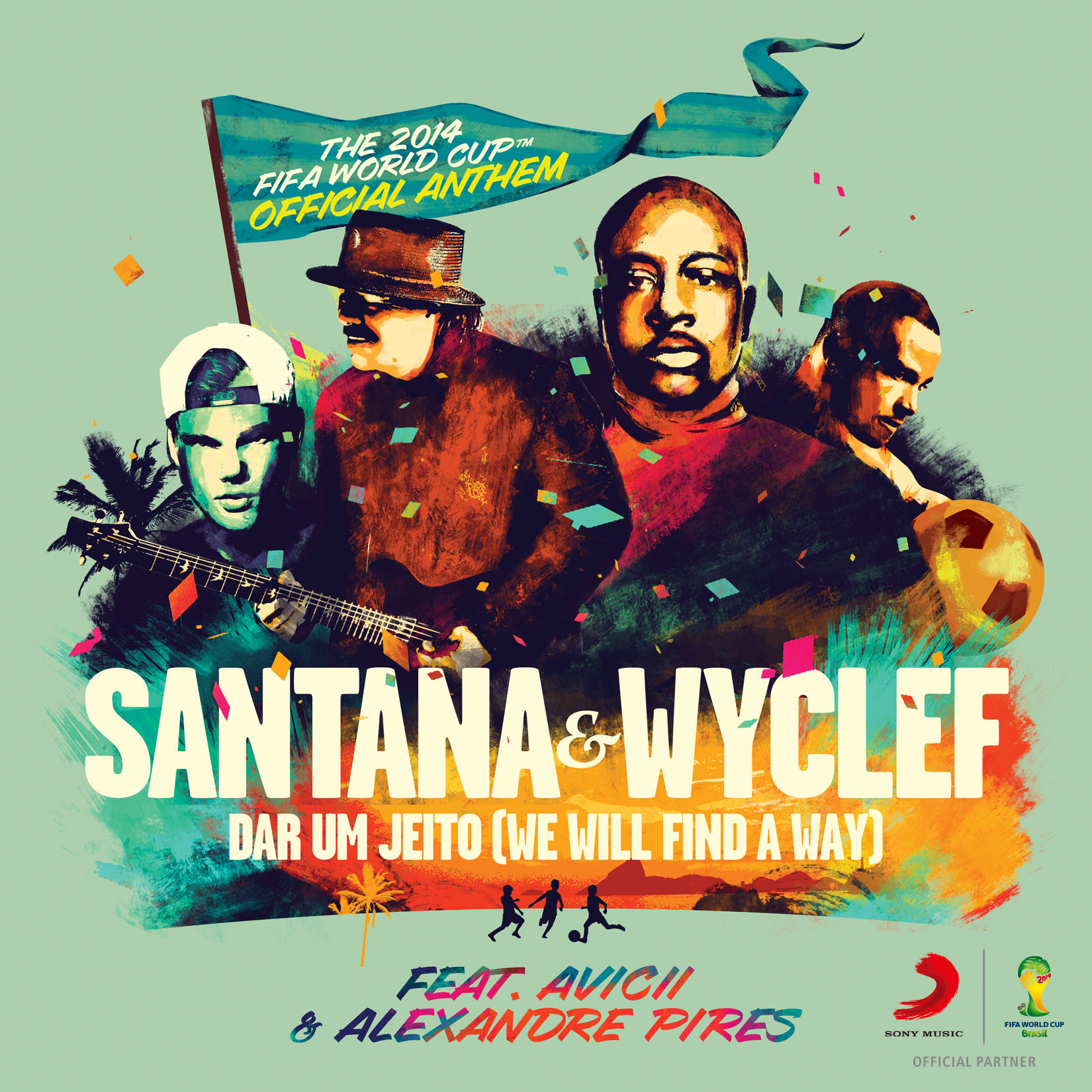 Santana, Wyclef, Avicii & More to Sing Official Anthem Of 2014 FIFA World Cup