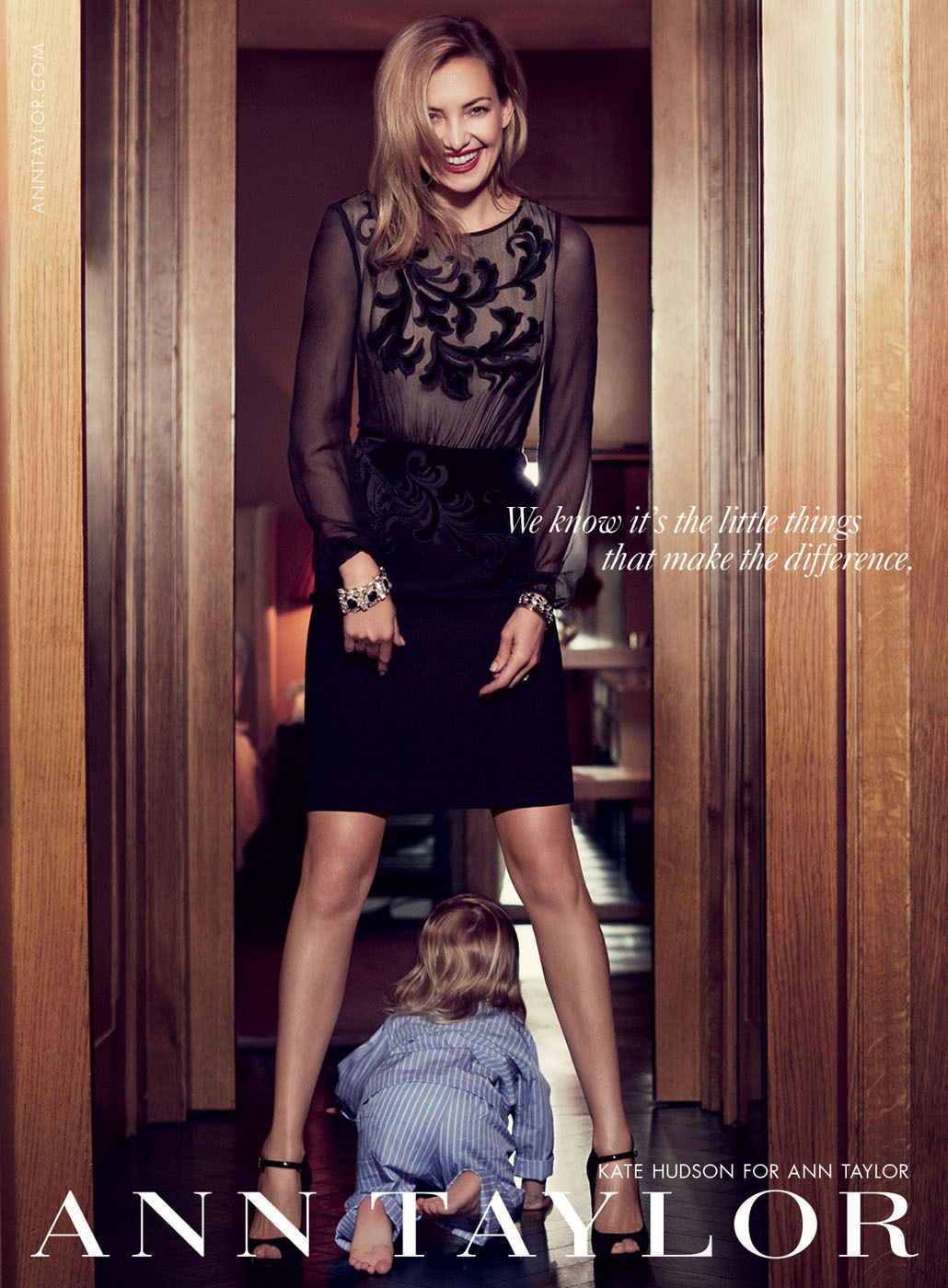 Ann Taylor Celebrates a Chic Holiday Season with Kate Hudson