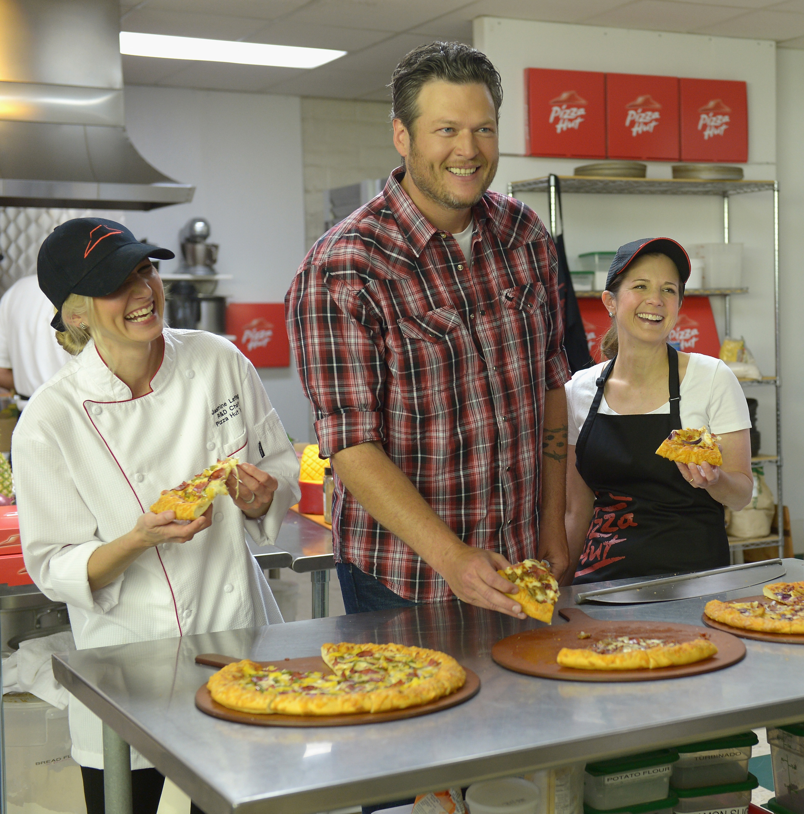 Pizza Hut Partners with Country Music Star Blake Shelton on New Line of BBQ Pizzas