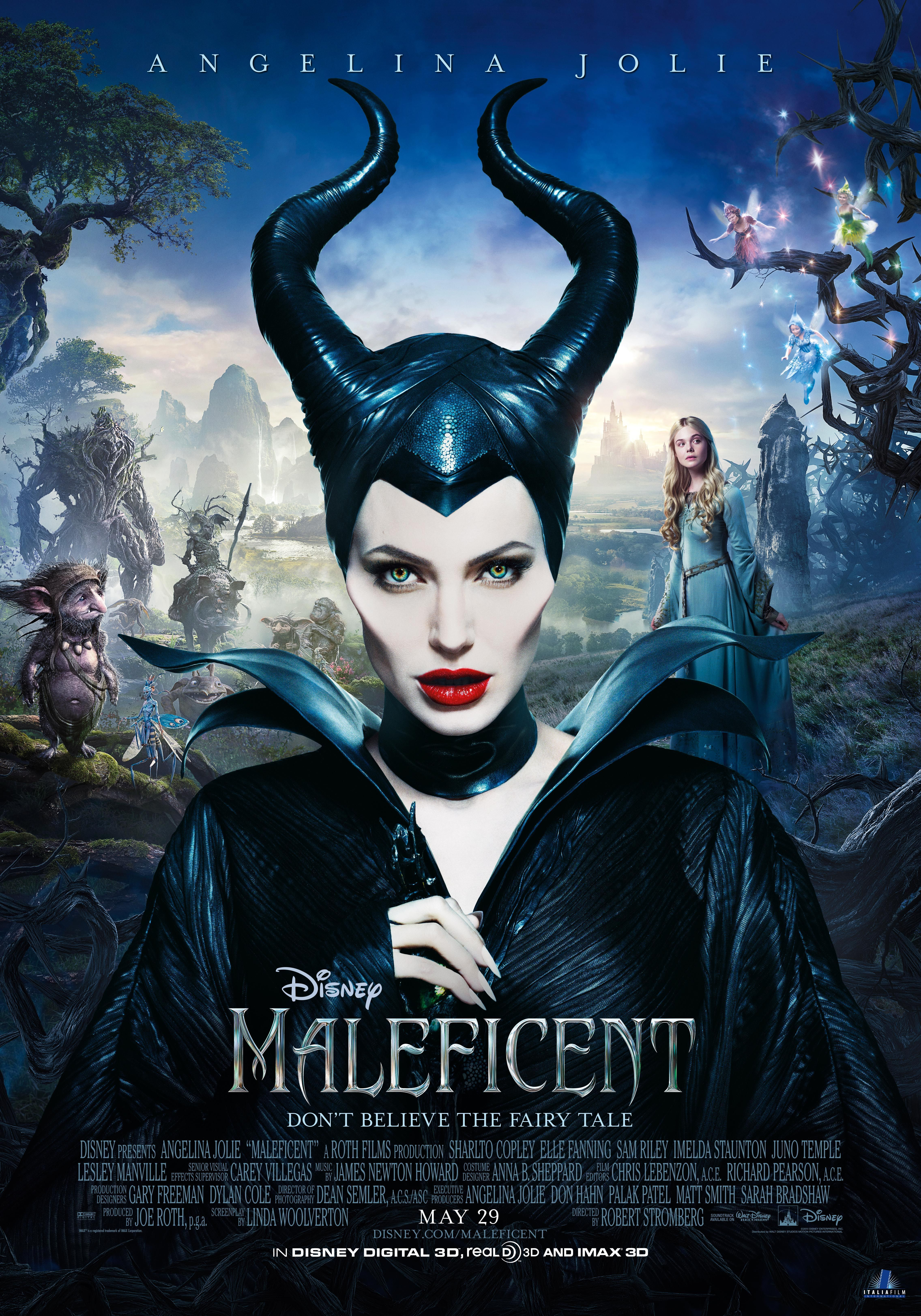 Angelina Jolie is MALEFICENT in Theaters in 3D, 5/29