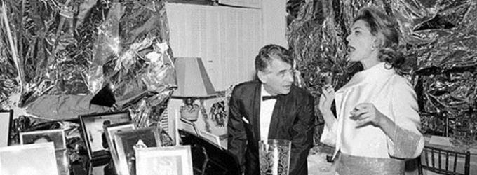 THEATRICAL THROWBACK THURSDAY: Lauren Bacall Fetes Bernstein Via Sondheim