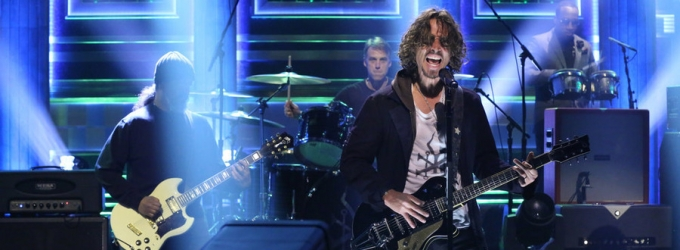 VIDEO: Soundgarden Performs 'Spoonman' & More on TONIGHT SHOW