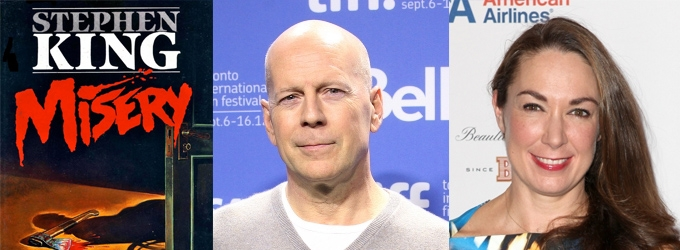 Breaking News: Bruce Willis & Elizabeth Marvel Are Headed to Broadway in MISERY!
