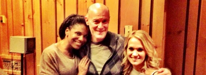 THE SOUND OF MUSIC Update! First Look At Carrie Underwood & Audra McDonald In The Studio