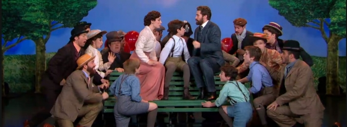 VIDEO: Matthew Morrison, Laura Michelle Kelley & FINDING NEVERLAND Cast Perform 'Believe' on GMA