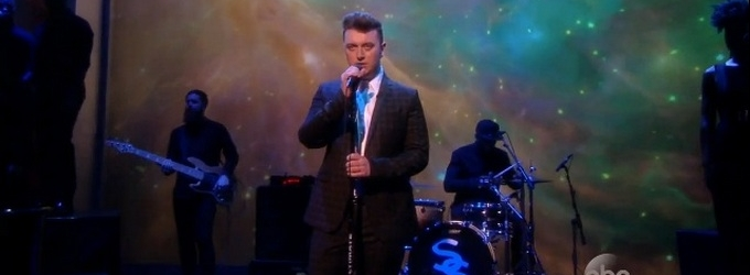 VIDEO: Sam Smith Performs 'Stay With Me' on THE VIEW