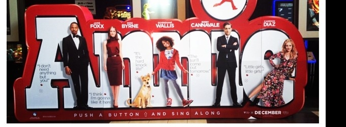 New Interactive ANNIE Sing-A-Long Poster Display Unveiled