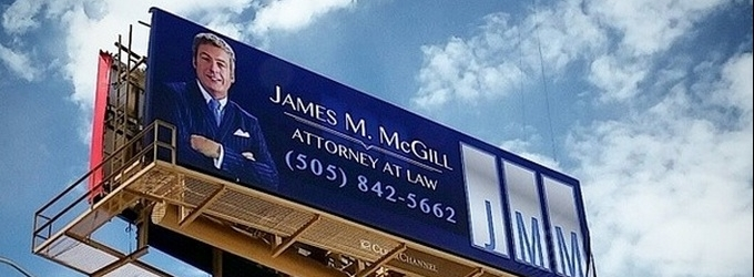 Clever BETTER CALL SAUL Billboard Promo Pops Up in New Mexico!
