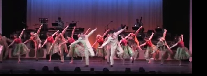 STAGE TUBE: First Look at Highlights, TV Appearance of SDMT's WHITE CHRISTMAS