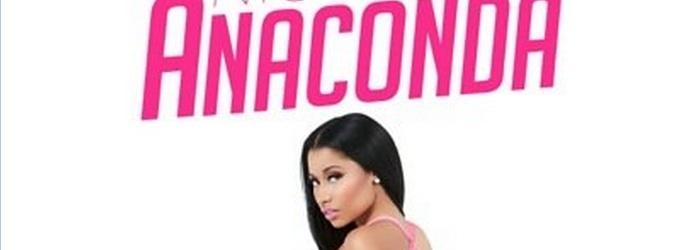 First Look - Nicki Minaj Shares Artwork for New Single 'Anaconda'!