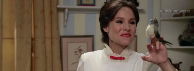 VIDEO: Kristen Bell Sings as Mary Poppins in New FUNNY OR DIE Parody!