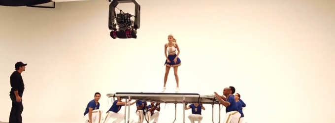 VIDEO: What Does Taylor Swift Do When She Screws Up a Routine for Her Video? She Shakes it Off!