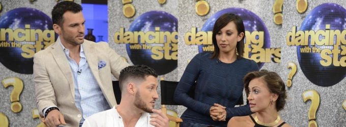 VIDEO: Season 19 DANCING WITH THE STARS Pros Revealed on GMA!