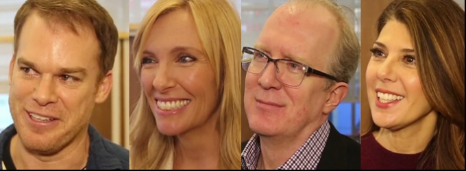 BWW TV: Meet the Company of THE REALISTIC JONESES- Michael C. Hall, Toni Collette, Tracy Letts & Marisa Tomei!