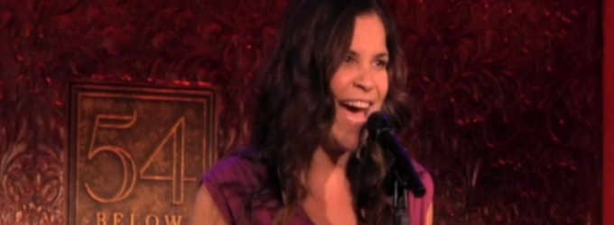 BWW TV: On the Scene at 54 Below with Jason Robert Brown, Lindsay Mendez & More!
