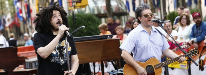 VIDEO: Counting Crows Perform 'Mr. Jones', New Single 'Earthquake' on TODAY