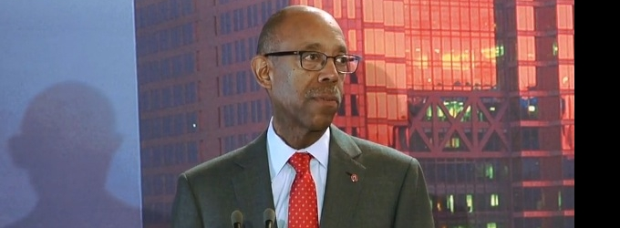 STAGE TUBE: OSU President Michael Drake Speaks at Luncheon - Says Jon Waters Will Not Get His Job Back
