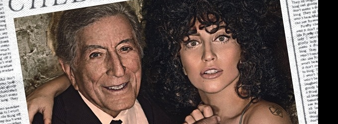 Lady Gaga Unveils Cover For New Tony Bennett Duets Album, CHEEK TO CHEEK