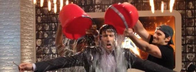 Josh Groban Takes ALS Ice Bucket Challenge With Help From Ludacris & Brad Paisley