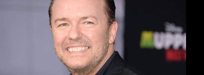Comedian Ricky Gervais Claims 'Free Speech' After Blaming Celebrity Victims for Nude Photo Hack