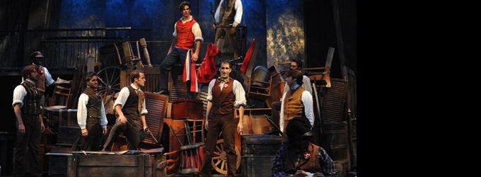 BWW Reviews: The Turntable Returns to Orlando Shakespeare's LES MISERABLES
