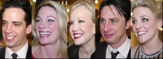 BWW TV: Chatting with the Cast of BULLETS OVER BROADWAY on Opening Night!