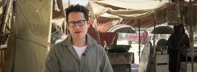 J.J. Abrams Announces Chance for Fans to Be in  STAR WARS: EPISODE VII!