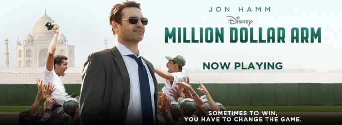Review Roundup: JON HAMM Stars in Family Film MILLION DOLLAR ARM
