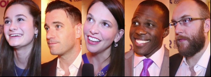 BWW TV: Chatting with Sutton Foster & the Cast of VIOLET on Opening Night!