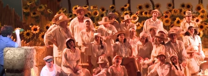 STAGE TUBE: First Look at The Israeli Opera House's L'elisir d'amore