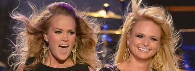 VIDEO: Carrie Underwood & Miranda Lambert Team for 'Something Bad' at CMT MUSIC AWARDS