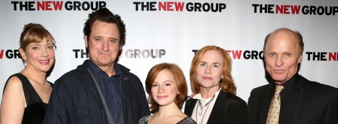 BWW TV Exclusive: Chatting with the Cast of THE JACKSONIAN on Opening Night- Ed Harris, Bill Pullman, Amy Madigan & More!