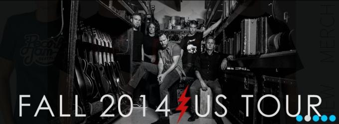 PEARL JAM Announces Fall 2014 U.S. Tour