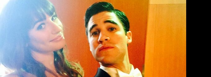 Lea Michele & Darren Criss Tease Upcoming GLEE Broadway Showstopper