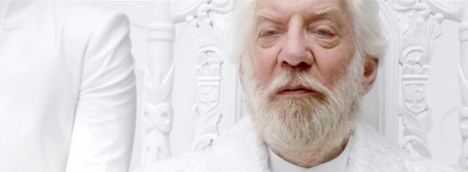 VIDEO: President Snow Delivers Message in HUNGER GAMES: MOCKINGJAY Teaser Trailer!