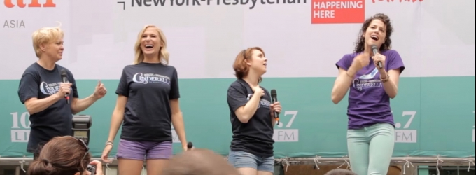 BWW TV: Meet CINDERELLA's New Leads! Paige Faure, Nancy Opel & More Perform in Bryant Park!
