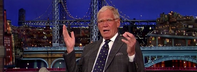VIDEO: David Letterman Shares Moving Tribute to Robin Williams