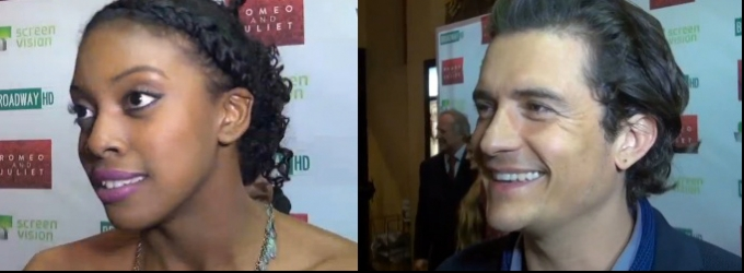 BWW TV: On the Red Carpet with Orlando Bloom, Condola Rashad & More for ROMEO AND JULIET's Big Screen Premiere!