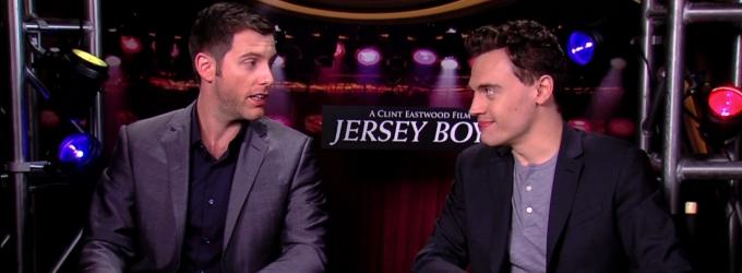 BWW TV: Meet the JERSEY BOYS- Chatting with Erich Bergen & Michael Lomenda!