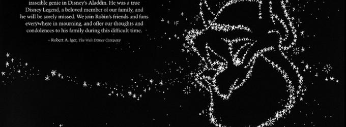 Walt Disney's Twitter Tribute Depicts Robin Williams's 'Genie' in the Stars