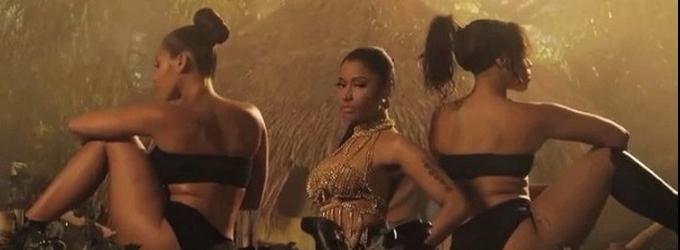 Nicki Minaj Shares First Listen & Sneak Peek of New Single 'Anaconda'!