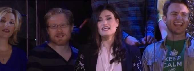 VIDEO: Idina Menzel & Cast of IF/THEN Lead FROZEN Singalong on GMA