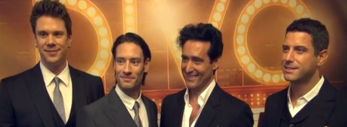 BWW TV: IL DIVO Coming to Marquis Theatre in A MUSICAL AFFAIR; Meet the Broadway-Bound Quartet!