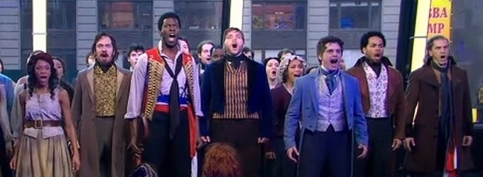 VIDEO: Cast of Broadway's LES MISERABLES Perform 'One Day More' on GMA