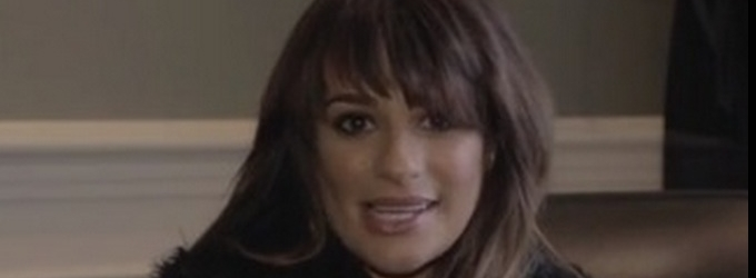 VIDEO: GLEE's Lea Michele Shares Episode 2 of 'Louder' Video Diaries
