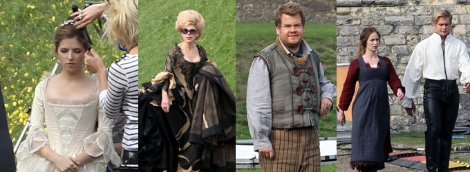 First Look At INTO THE WOODS Movie Cast In Costume!