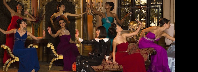 First Look At GLEE's Gorgeous FUNNY GIRL Tribute With Lea Michele & Naya Rivera